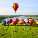 Незабываемый полет на воздушном шаре