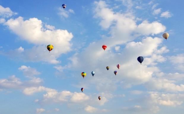 Баган: полет на воздушном шаре