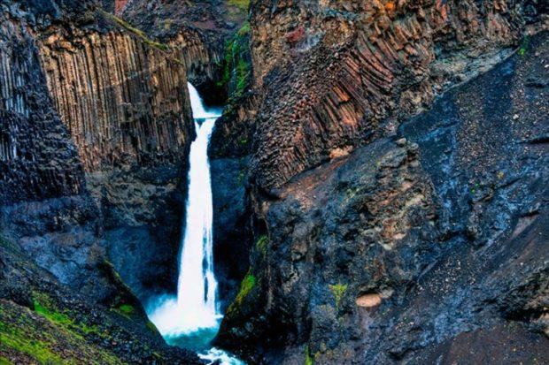 Водопад Литланесфосс