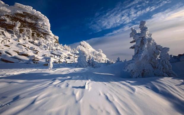 Горнолыжный курорт Шерегеш, Горная Шория, Россия
