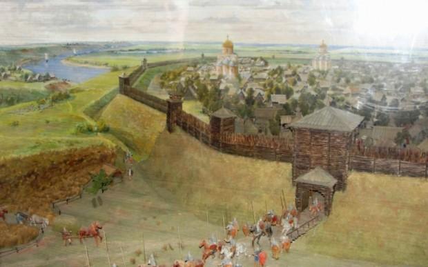 Городище Старая Рязань