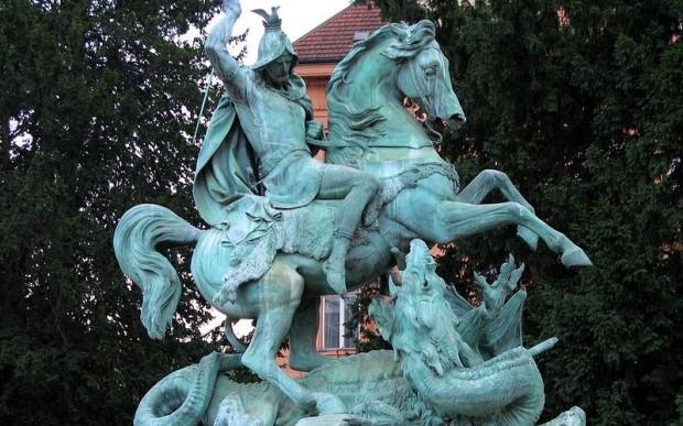 Город драконов Загреб, Хорватия