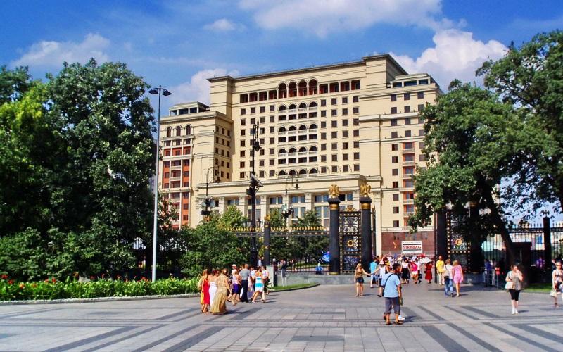 Гостиницы, отели и хостелы Москвы