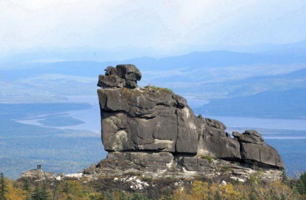 Дальневосточная Шаман-гора и Амурские столбы