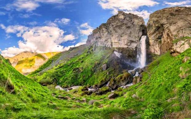Джилы-Су. Водопад Султан