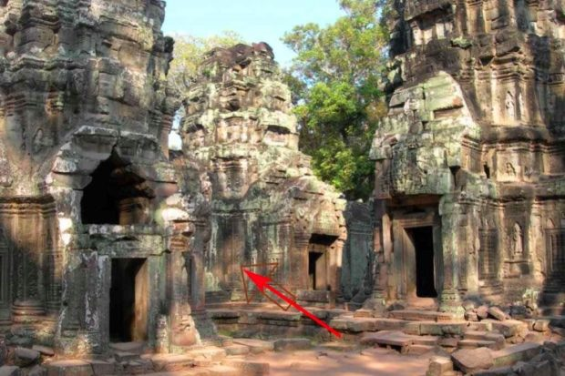Динозавр Ангкор-Ват
