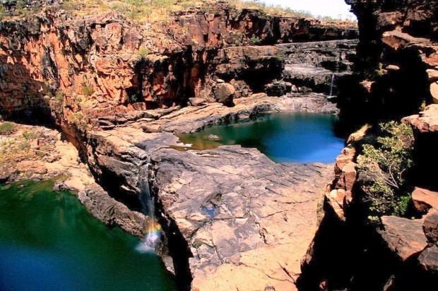 Достопримечательности Австралии, водопад Митчелл