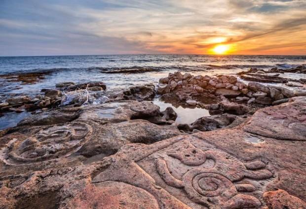 Достопримечательности Крыма – рисунки на скалах в Таш-Аир
