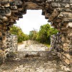 Древние города острова Косумель, Мексика (5 фото)