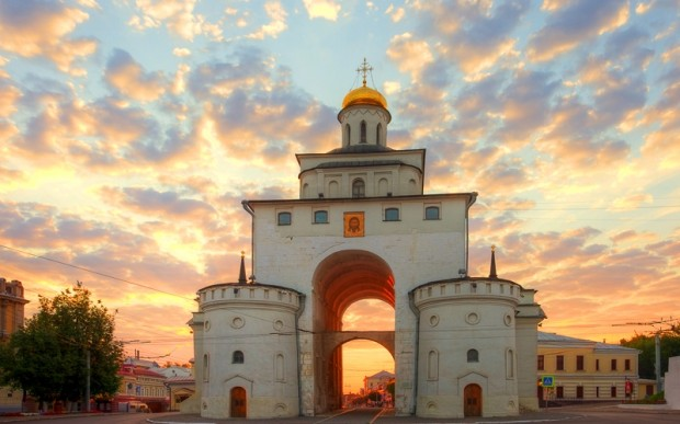 Древний русский город Владимир