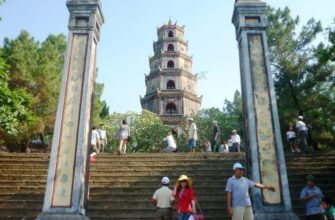 Интересные места Азии: пагода Тьен Му