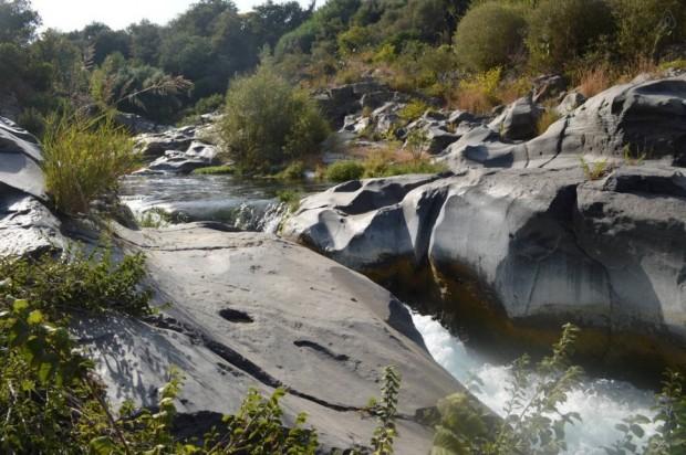 Интересные места Италии: Ущелье Алькантара