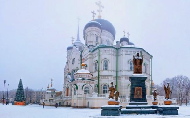 Интересные места России зимой: Воронеж