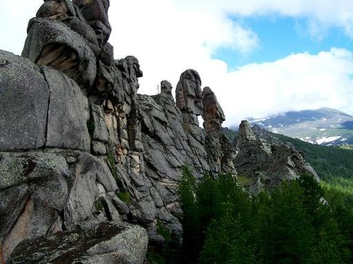Интересные места России красота Алтая – Бащелакский хребет