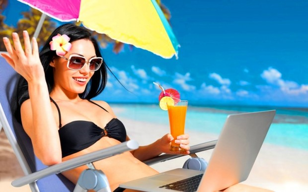 Как оставаться на связи в отпуске