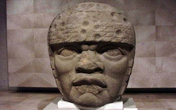 Каменные головы Ольмеков