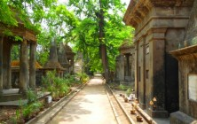 Кладбище Калькутты, Индия