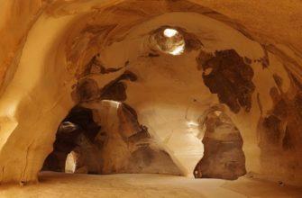 Колокольные пещеры, Израиль