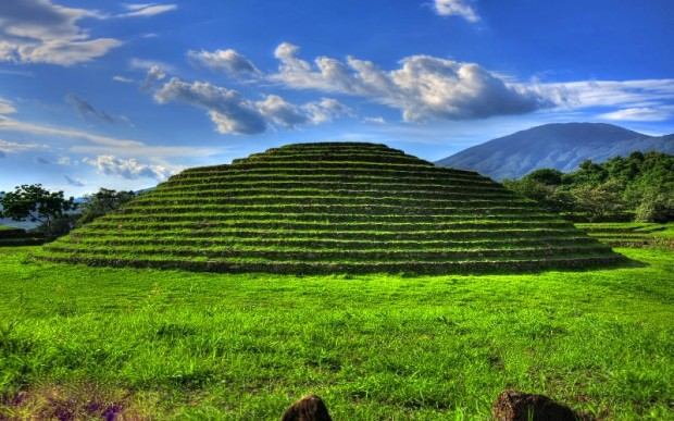 Круглая пирамида Гуачимонтонес, Мексика
