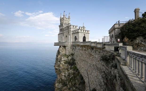 Ласточкино гнездо в Крыму