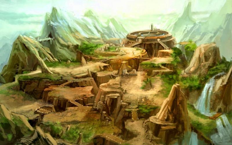 Лемурия на карте древнего времени