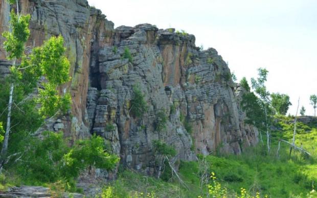 Люськины (Быркинские) скалы