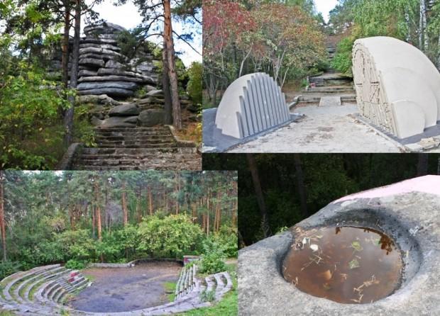 Мегалиты Екатеринбурга – Каменные палатки озера Шарташ 8