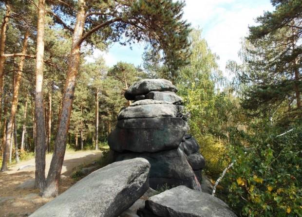 Мегалиты Екатеринбурга – Каменные палатки озера Шарташ 94