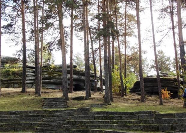 Мегалиты Екатеринбурга – Каменные палатки озера Шарташ 98