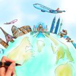 Нарисуй свое путешествие… простой ручкой