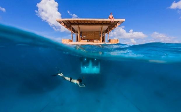 Необычный отель с подводным номером