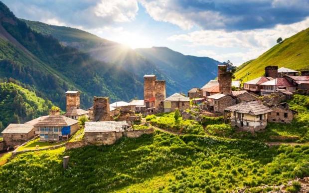 Одна из самых красивых стран – Грузия