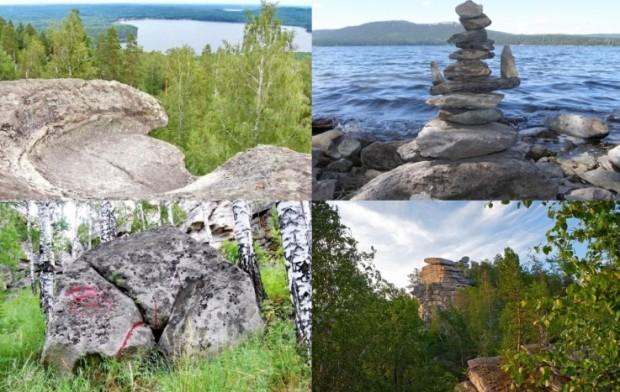 Озеро Аракуль, мегалиты России