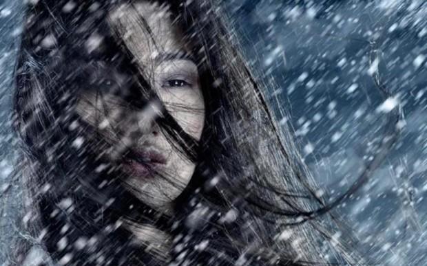 Она болеет снегом