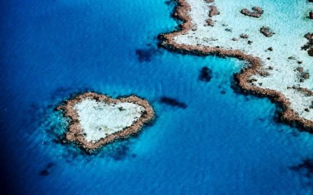 Острова любви. Красивые острова в виде сердца