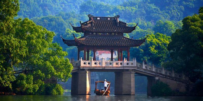 Отпуск в Китае