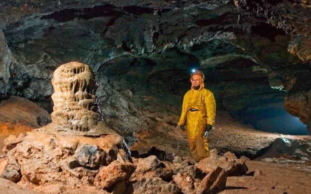 Пещера Черного дьявола Кашкулак в Хакасии
