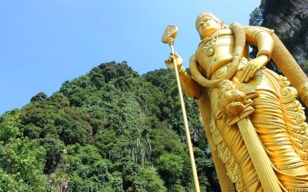 Пещеры Бату в Куала-Лумпур