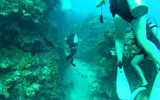 Подводные мегалиты на западе Кубы