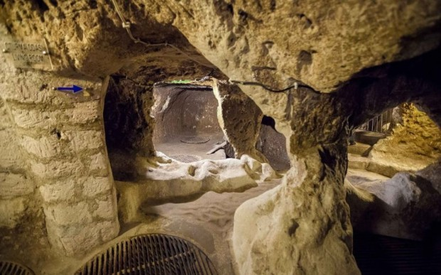 Подземный город хеттов в Каппадокии