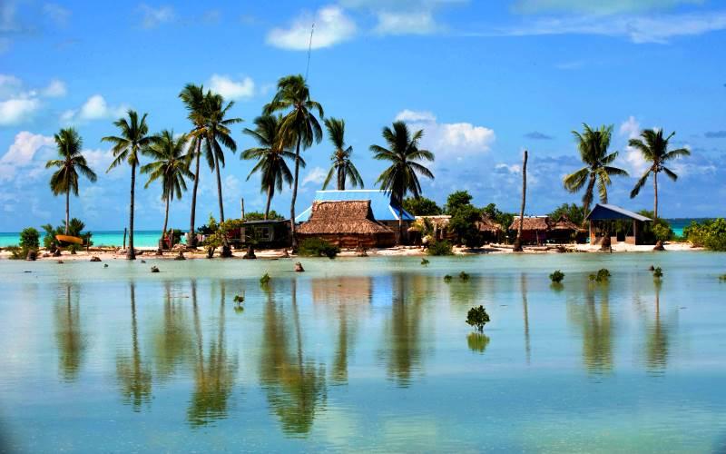 Посреди Тихого океана. Республика Кирибати
