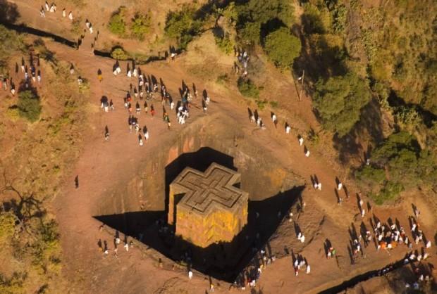 Православные храмы Лалибела (Эфиопия)