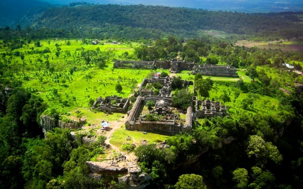 Путешествие в Камбоджу: храмы Преа Вихея