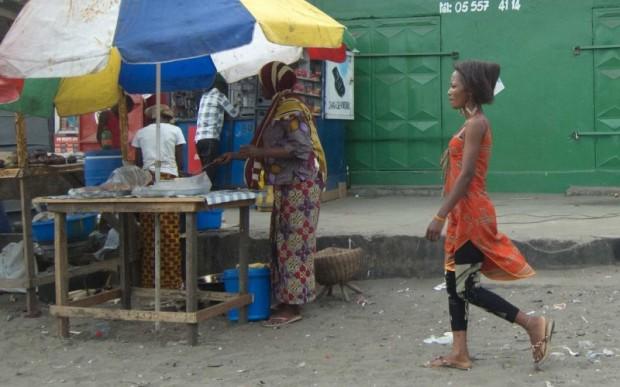 Путешествие в Конго, Пуэнт-Нуаре