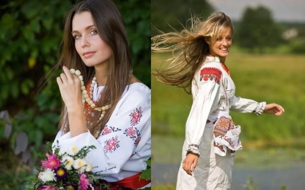Русь. Красное на белом: вышиванка славян