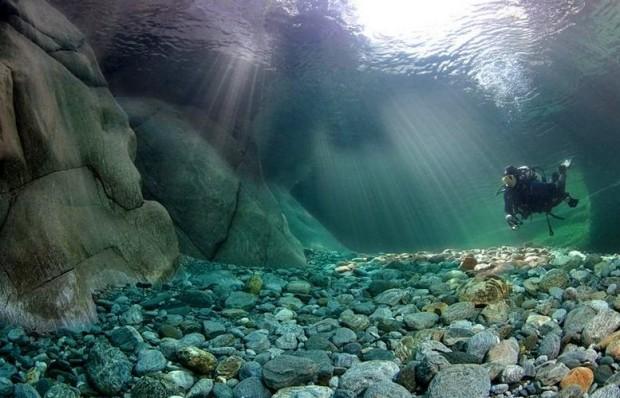 Самая прозрачная река