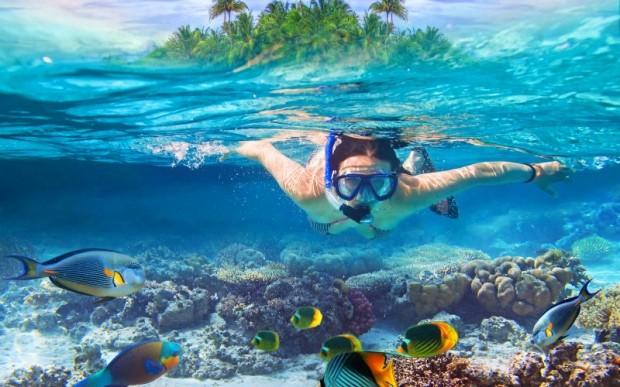 Сейшелы, подводное погружение