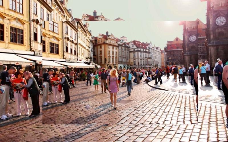Средневековые красоты города Прага