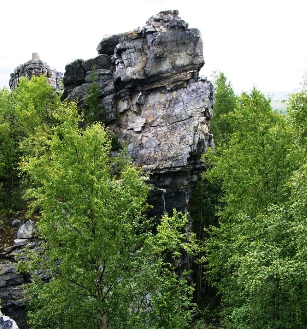 Старик-камень