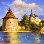 Старинный город Святой Руси Псков и его Кром (32 фото)